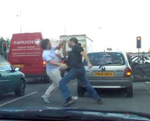 Road rage fight by methodshop com
