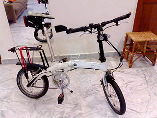 Dahon Curve D3 with rack | by mr brown
