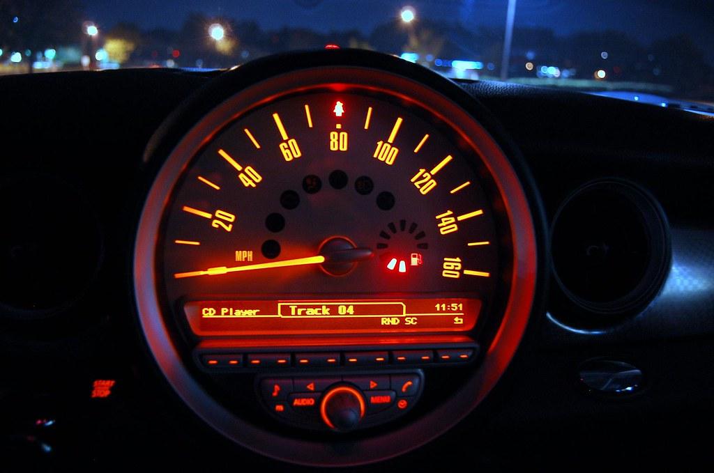 Mini cooper S speedometer | Milind Balaji | Flickr