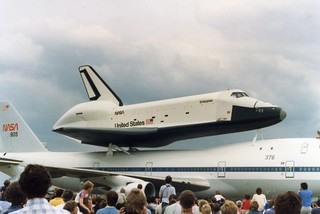 Space Shuttle STS Enterprise at Stansted Airport Essex UK, Sunday June 5th 1983 | by Stuart Axe