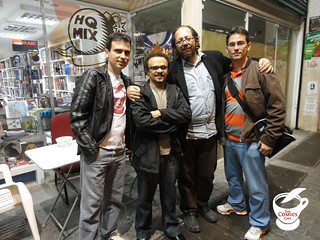 The Comics Cafe na HQ MIX Livraria | by The Comics Cafe