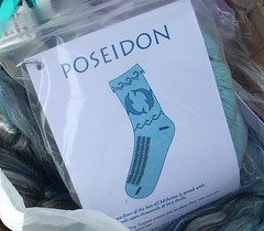 Poseidon sock kit | by Library Kat