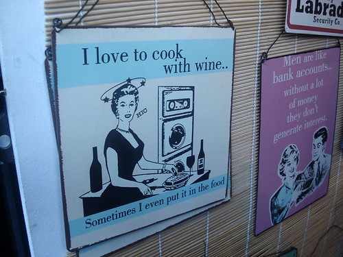 I loke to cook with wine | by yaili