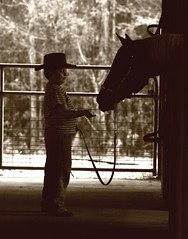 one boy and his horse | by jay j wilkie