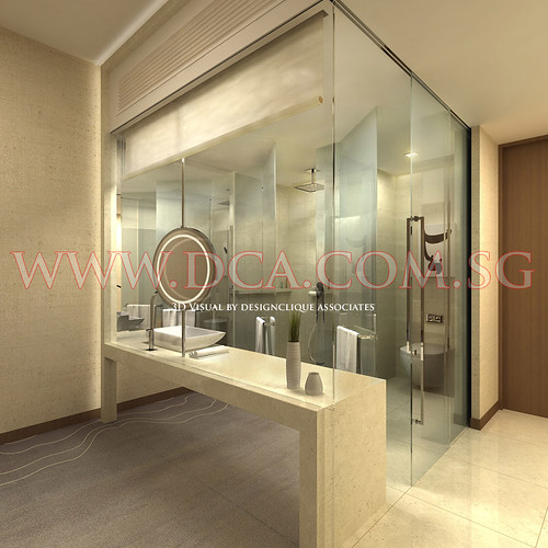 3d hotel bathroom design 3d visualization services for Bathroom designs 3d free