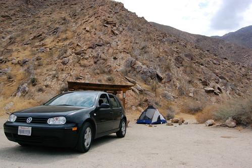 Desert car camping anza borrego desert state park palm for Desert motor palm desert ca