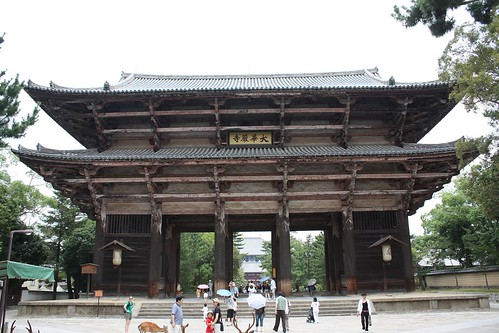 todai-ji entry gate (nandai-mon) | by Doctor Memory