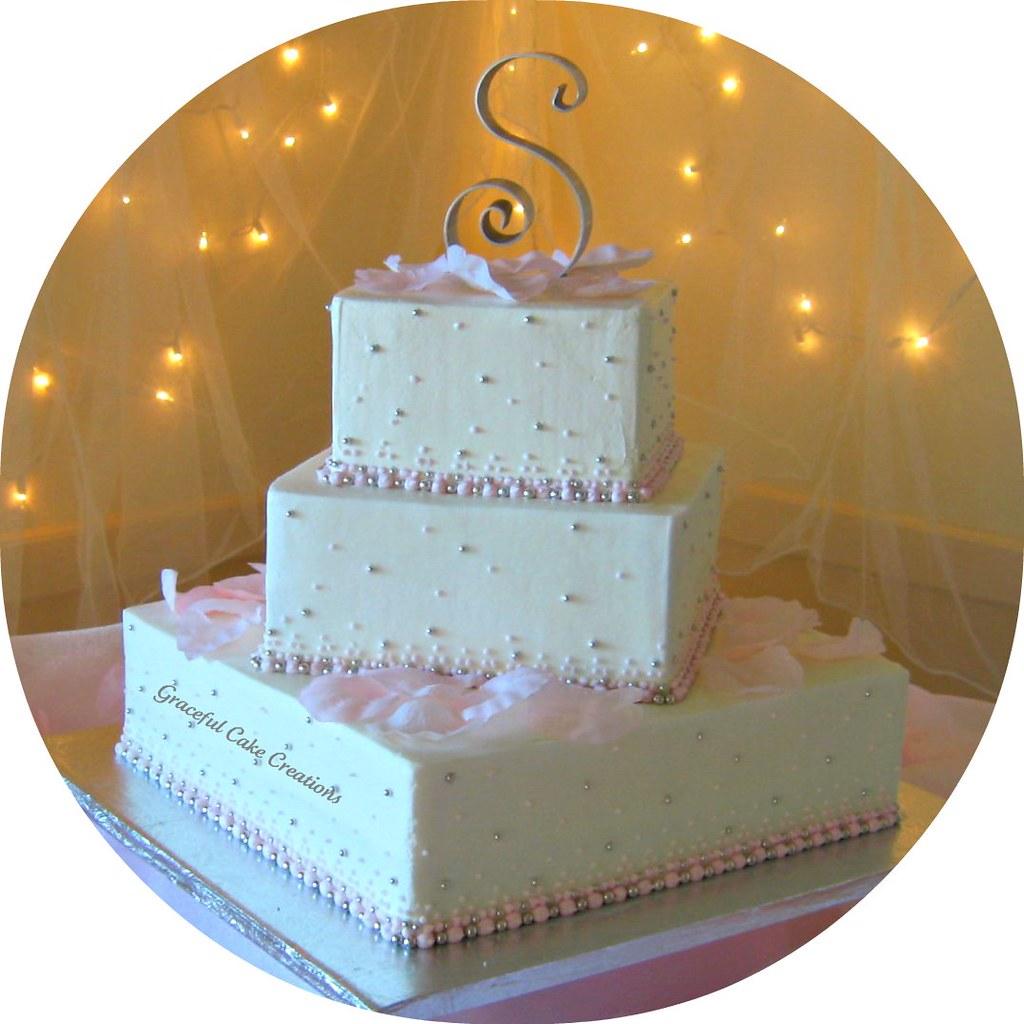 Pink Champagne Wedding Cake | Wedding cake | Grace Tari | Flickr