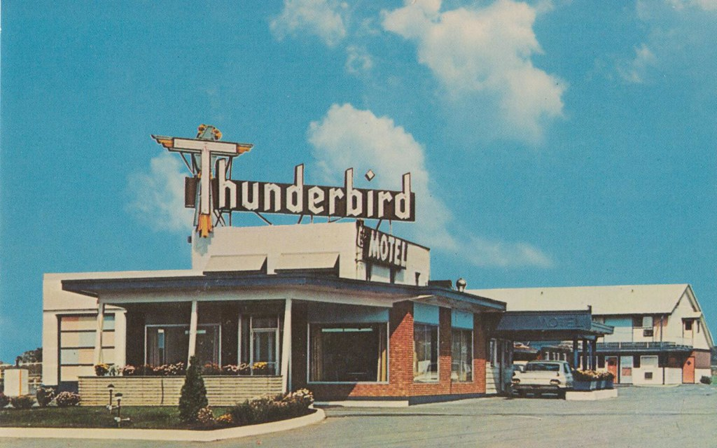Thunderbird Motel -  Syracuse, New York