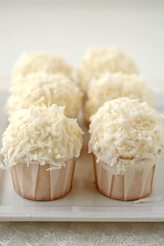 coconut cupcakes | by cannelle-vanille