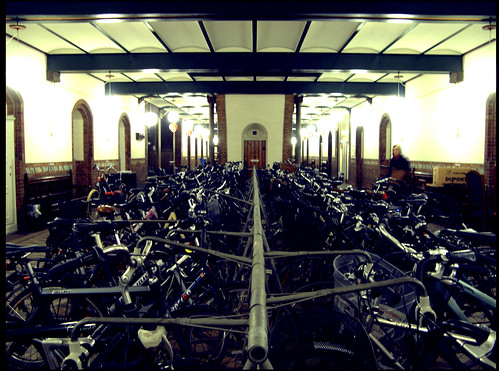 City Hall Bike Parking | by Mikael Colville-Andersen