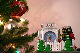 robot christmas | by andrew d miller