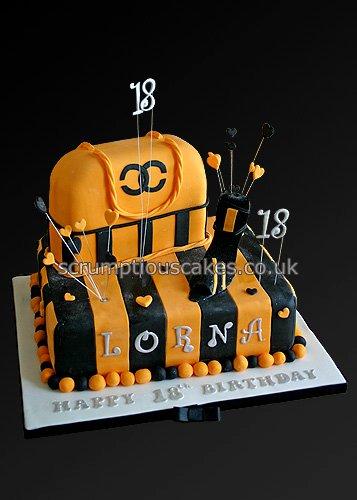 Birthday cake 743 handbag shoe made for a dundee uni flickr birthday cake 743 handbag shoe by scrumptious cakes by paula publicscrutiny Images