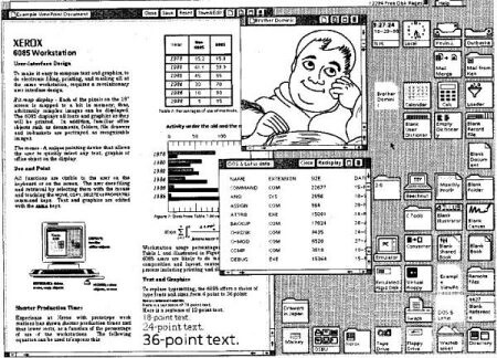 Xerox First GUI | by Glaydson