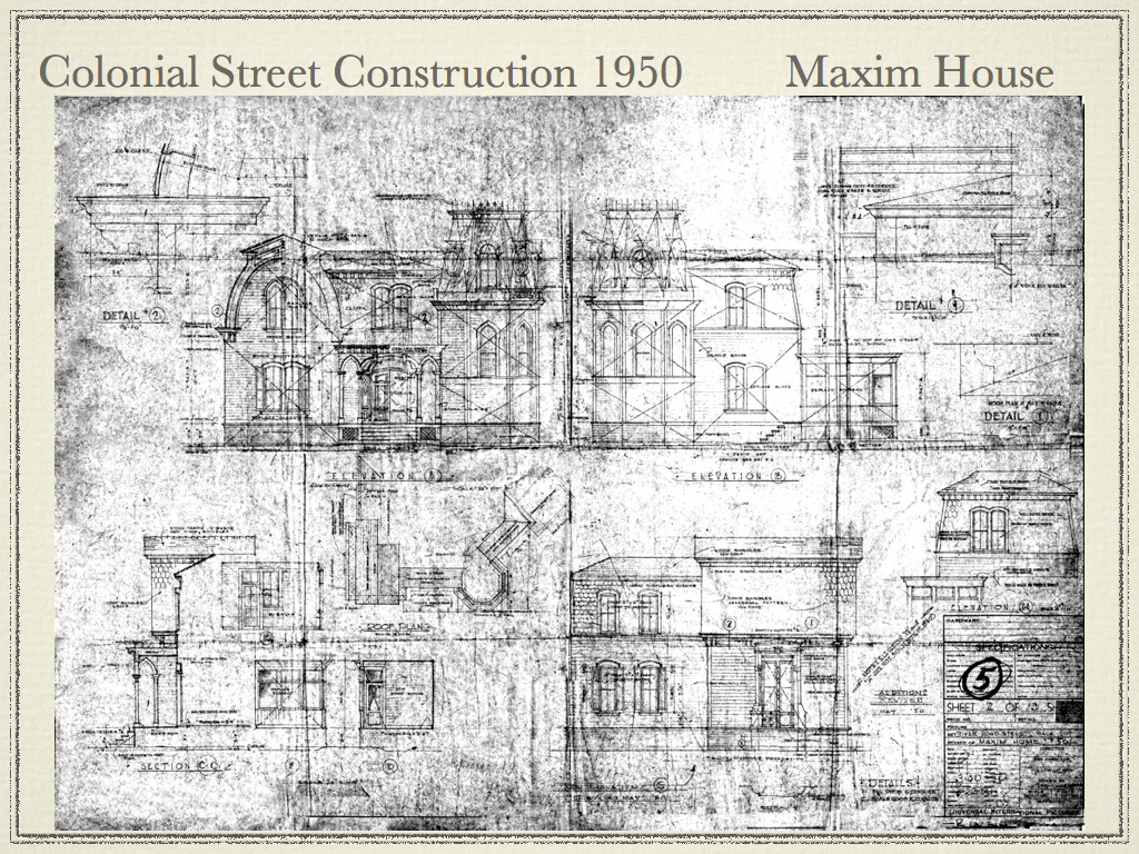 Munsters house blue print dennis dickens universal colle flickr universalstonecutter munsters house blue print by universalstonecutter malvernweather Images