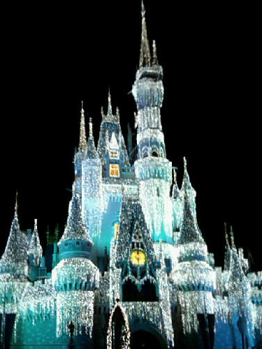 Magic kingdom castle at night the castle at night inside t flickr magic kingdom castle at night by danmiami publicscrutiny Image collections