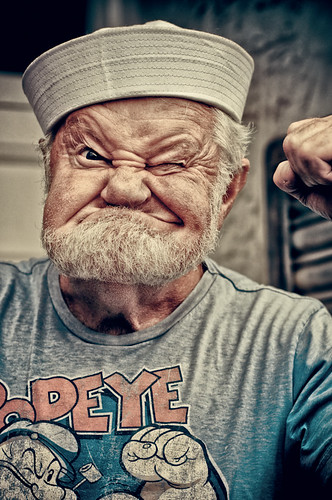 Popeye the Sailor man | by essexdiver