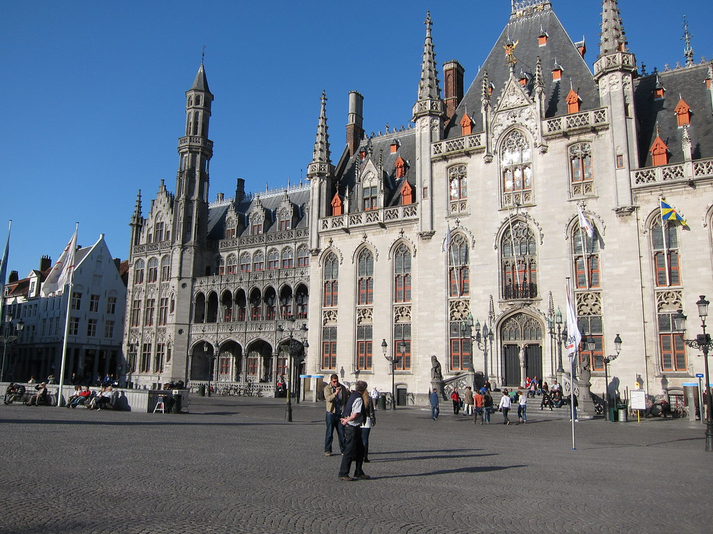 Markt bureau de poste post office bruges belgique belgiu flickr