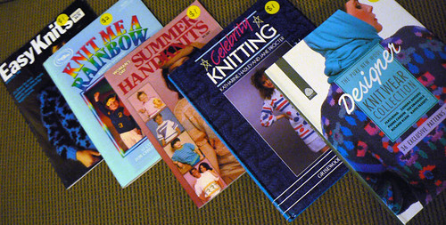 Retro Knitting Books | by :Salihan