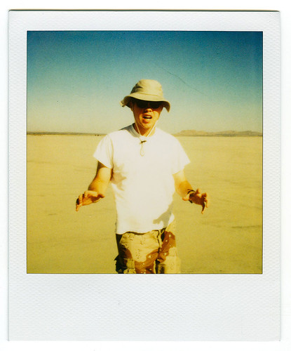polaroid self-portrait. 2000. | by eyetwist