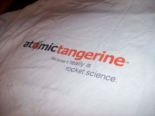 AtomicTangerine T-shirt 2 | by budesigns
