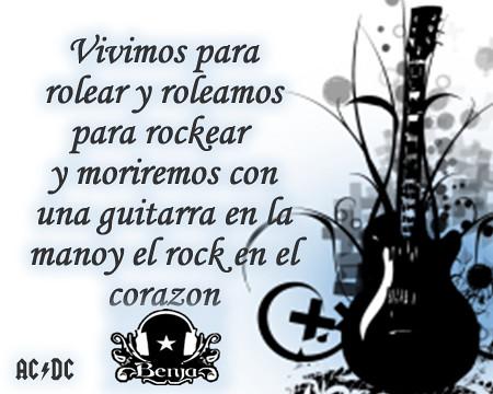 Frase Rock Roleamos Buena Frase Que Perdurara Flickr
