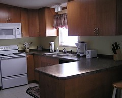 Maple Kitchen Cabinets With Black Granite Countertops