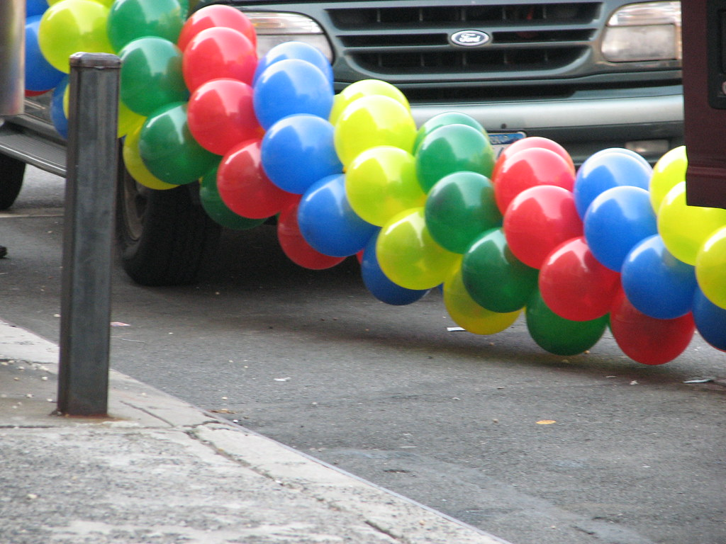 99 Luft Gruan Bluen Und Yellick Balloons