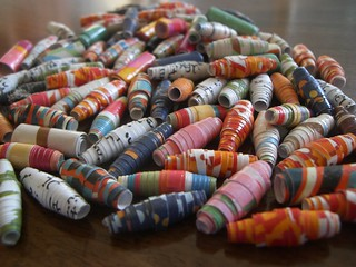 Paper Beads | by aimeedars