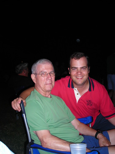 Dad and I from 2008