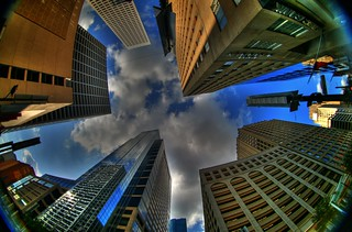 Downtown, Looking Up | by J-a-x