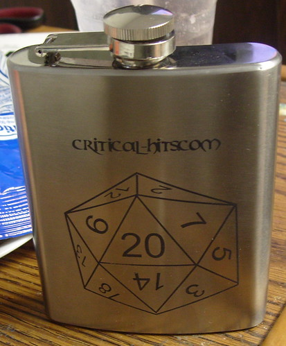 Critical-hits.com official flask | by davethegame