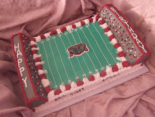 Alabama Football Cake This Half Sheet Cake Was Done For