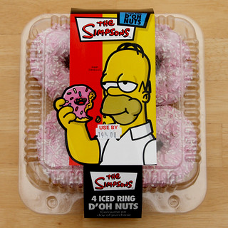 Simpsons Ring Ring Ring With The Trolley