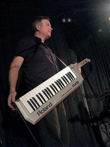 andy packin' a keytar | by 200ok