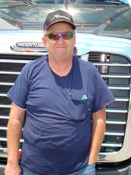 """This engine has power and great fuel economy."" Walter Hayes - Owner Operator 