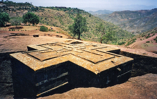 Ancient Bedrock Church of St. George, Lalibela, Ethiopia | by Boonlong1