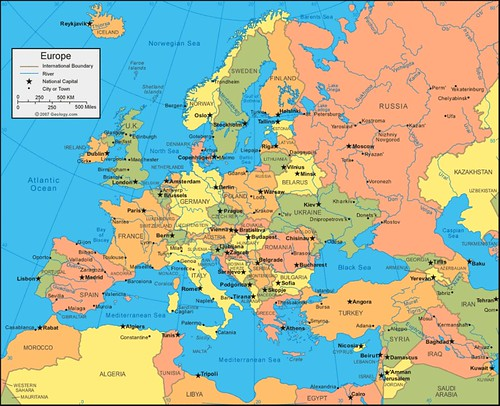 Europe map iceland says flickr europe map by iceland says gumiabroncs Gallery