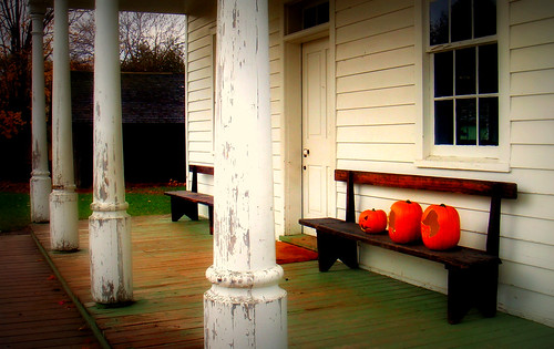 Pumpkins on the Bench | by jasonlaucker