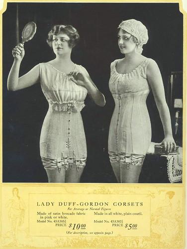 1918 Lady Duff-Gordon Corsets
