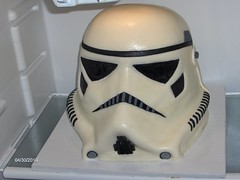 Stormtrooper Helmet | by Out of This World Cakes & Cupcakes