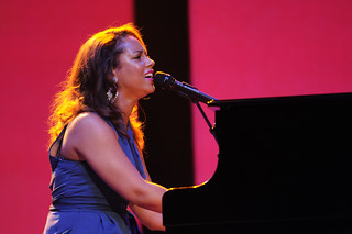 Alicia Keys at the Walmart Shareholders Meeting 2011 | by Walmart Corporate