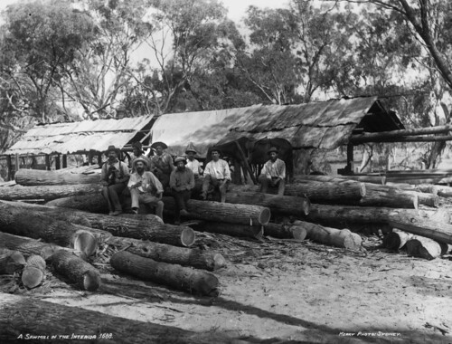 A sawmill in the interior | by Powerhouse Museum Collection