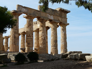Greek temple at Agrigento | by tristanf