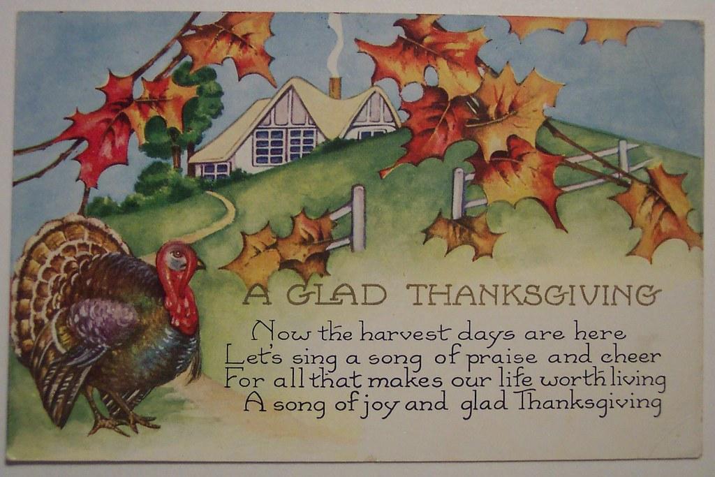 Image result for thanksgiving vintage postcard