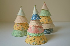 Fabric Trees | by Cindy {K}