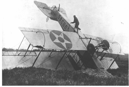 Wrecked Airmail Plane | by Smithsonian Institution