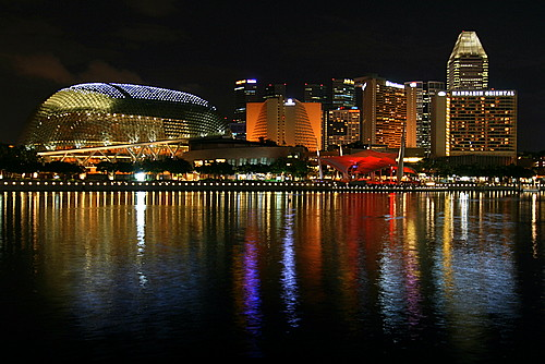 b6353 Singapore Esplanade Nightscape | by tengtan (catching up)