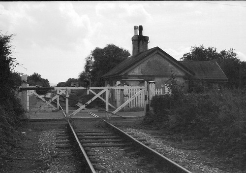 Exeter Road Level Crossing And Crossing Keeper S Cottage