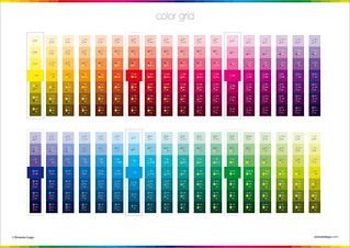 Color Grid | Color Poster Collection | by Ernesto Lago